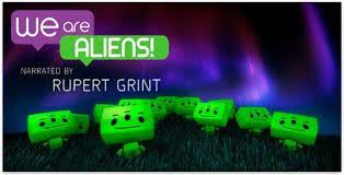 we are aliens H